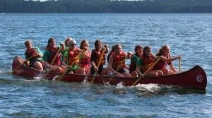 Canoeing at Camp Nicolet